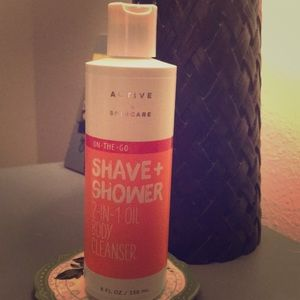 Shave & Shower 2in 1 oil body cleanser